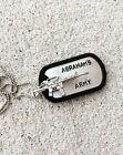 The Walking Dead Abraham's Army Necklace OR Keychain Rifle Abraham Fan Gift