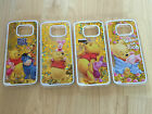 Winnie The Pooh Sparkle Liquid Quicksand Case For Galaxy S7 Edge- Ship From USA
