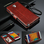 Kyпить Genuine Real Leather Flip Wallet Case Cover for Samsung Galaxy Models на еВаy.соm