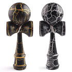 2 Colors 18cm Wooden Crack Paint Kendama for Kid Party Game Xmas Gift