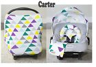WHOLE CABOODLE by CarSeat Canopy 5pc Set JERSEY STRETCH Baby Car Seat Cover New!