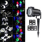 10 Replaceable LED Projector Lamp Pattern Snow Flake Spotlight for Christamas