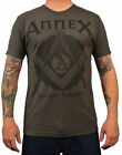Men's Secret Society by Annex Freemasons Masonic Mason Symbol Charcoal T-Shirt