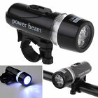 5LED Waterproof Lamp Bike Bicycle Front Head Light Flashlight Headlights Sale