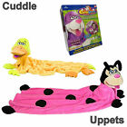 New Cuddle Uppets Snuggle pets Cuddly Bunny, Duck or Ladybug Puppet-Blanket BNIB