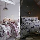 Catherine Lansfield Grampian Stag Reversible 100% Brushed Cotton Bedding Set
