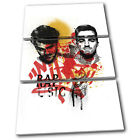 Chainsmokers Grunge Urban Musical TREBLE CANVAS WALL ART Picture Print