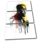 Lebron James NBA Grunge Urban Sports TREBLE CANVAS WALL ART Picture Print