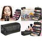 Women Travel  Makeup Case Roll-up CosmeticsOrganizer Pouch Hanging Toiletry Bag