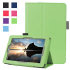 Slim Flip Leather Shockproof Folio Case For Amazon Kindle Fire HD 8 2016 2015