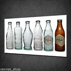 COCA COLA BOTTLE COLLECTION RETRO WALL ART CANVAS PRINT PICTURE READY TO HANG £19.0  on eBay