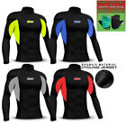 Mens Cycling Winter Jersey Long Sleeve Cold Weather Fleece Shirt