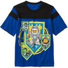 LEGO NEXO KNIGHTS CLAY AXL Cotton Tee T-Shirt NWT Sizes 4/5, 6/7, 8 or 10/12 $20