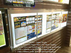 Take Away LED Menu - 150 x 60cm + Wall or Ceiling mounting accessories + Modern