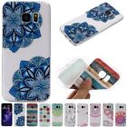 Rubber Silicone Soft TPU Slim Gel Pattern Skin Case Cover For Samsung S7/edge
