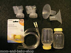 MEDELA PUMP IN STYLE BREAST PUMP SPARE PARTS KIT SHIELD TUBE BOTTLE VALVE SET