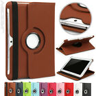 360 Rotating Flip PU PC Case Cover Pouch For Samsung P5100 Tablet Colour Choice