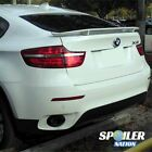 2009-2013 BMW X6 H-Style Rear Trunk Wing Spoiler (UNPAINTED)