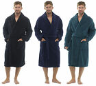 Mens Tom Franks Classic Supersoft Fleece Towelling Bathrobe Dressing Gown