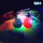 Electronic RC Flying Ball Infrared  Aircraft LED Light Mini Kids Children Toy