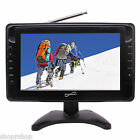 "Supersonic SC-2810 10"" Portable LCD Television w- Built-in Digital TV Tuner NEW"