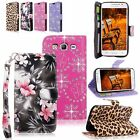 For Samsung Galaxy On5 Case Pu Leather Flip Wallet Card Slot Pocket Stand Cover