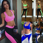 Women Tracksuit Gym Yoga Clothes Running Fitness Sports Bras+Leggings Pants USA