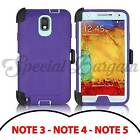 OtterBox Defender Otter Defender Series Samsung Galaxy Note 2 3 4 Note 5 Purple