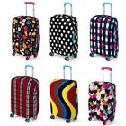 20-28'' Luggage Protector Suitcase Cover Travel Durable Dust-proof Bag 6 Color