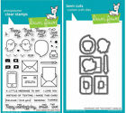 Lawn Fawn Love Letters - Clear Stamp (LF1292) or Custom Die (LF1293)