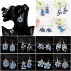 Multi Style Blue Eyes Turkey Blue Evil Eye Dangle Earrings for Women Girls