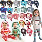 """2017 New Collection"" Vaenait Baby Infant Kid Boy Girl Clothes Pajama Set 12M-7T"