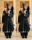 FLOATY FAIRY LONG TUNIC DRESS Plus Size 20 22 24 Gothic Vintage Lagenlook Baggy