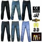 Force Rider Motorcycle Jeans with DuPont™ Kevlar® + CE armour hip knee