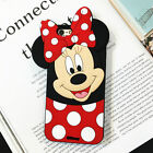 HOT!! 3D Cute Cartoon Soft Silicone Phone Case Cover Back Skin For Various Phone