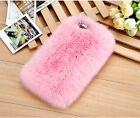 Winter Warm Soft Fluffy Back Cover Case Skin for iPhone 7 6 6S Plus 5 5S