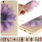 Silicone Soft Case Pattern Transparent TPU Skin Cover For iPhone 6 Plus/6S Plus