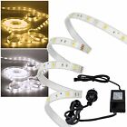 "(7,50€/m) 5m Led Stripe komplett Set ""Outdoor"" IP44 SMD Licht-Streifen flexibel"