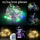 33FT 100LED Twinkle Flexible USB Copper Wire Christmas String Light Remote