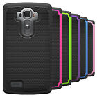 Shockproof Hybrid Armor Dual Layer Protective Phone Cover Case For LG G4
