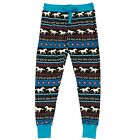 LazyOne Womens Horse Fair Isle PJ Leggings