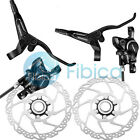 New Shimano BR-M315 Hydraulic Disc Brake Centerlock RT30 6-bolt Rotors HS1 Black