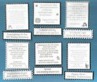 6 Silver 25th Wedding Anniversary Verse Toppers W/WO Matching Sentiment Banners