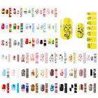14pcs Nail Wraps Stickers Full Self Adhesive Polish Foils Decoration Art Decals