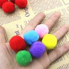 50xHomemade DIY Furball Small Pompom Balls Clothing Toy Accessory Kids Craft S