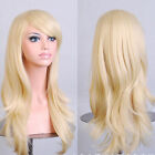 "New Womens 28 "" Long Big Wavy Wig Hair Heat Resistant Cosplay Wigs JF4"