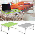 Portable Folding Picnic Camping Desk Laptop Table Bed Dinner/ Computer Lazy Tray