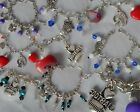 Aussie Rules Aust Football Geelong Fremantle Port Adelaide Sydney charm bracelet