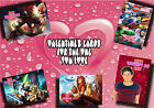 PERSONALISED valentine's day card Large A5 ANY valentines love marriage (9)