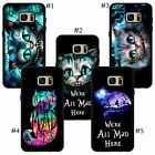 Fantasy picture in picture Cheshire Cat Alice In Wonderland Samsung case cover